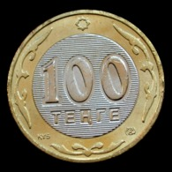 Kazakhstan 100 Tenge 2006. Km39 . Asia Coin. Bi-Metallic UNC - Kazachstan