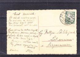 Lettonie - Carte Postale De 1936 - Oblit DauguliRiga - - Lettonie