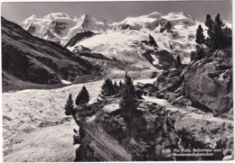 Piz Palü, Bellavista Und Morteratschgletscher - GR Grisons