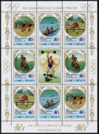 Olympics 1984 - Olympiques 1984 - Cycling - SAO TOME - Sheet MNH - Summer 1984: Los Angeles