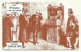 Italia - Tessera Telefonica Da 5.000 Lire N. 294 - Storia Del Telefono - Italia