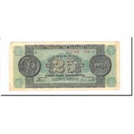 Billet, Grèce, 25,000,000 Drachmai, 1944-08-10, KM:130b, B - Griechenland