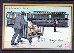 BLOC SOUVENIR - Philaposte 2017 - Wagon Poste - Les Courriers - Other