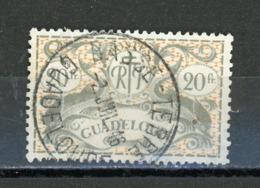 GUADELOUPE - SERIE DE LONDRES - N°Yt 196 Obli. - Guadalupe (1884-1947)