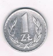 1 ZLOTY 1969  POLEN /6930/ - Polen