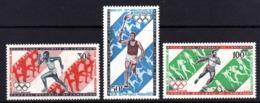 Cameroun  PA N° 179 / 81 X 75ème Anniversaire Des 1ers Jeux Olympiques Modernes , Les 3 Vals Trace De Charnière Sinon TB - Camerún (1960-...)