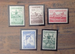 PDG. Cl1. P29.3. Fraîcheur Postale. Sans Charnière. COB. 827 >>> 831. Jeux Heysel - Nuevos