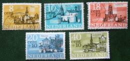 Zomerzegels Summer Sommer NVPH 842-846 (Mi 843-847) 1965 Gestempeld / USED NEDERLAND / NIEDERLANDE - Gebraucht