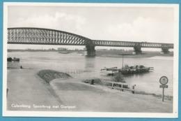 CULEMBORG - Spoorbrug Met Gierpont - 1956 - Autos Oldtimers - Culemborg