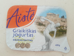 Lithuania Yogurt Top 2019 - Milk Tops (Milk Lids)