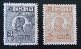 FERDINAND 1ER 1919/26 - OBLITERES - YT 265 + 274 - 1918-1948 Ferdinand, Carol II. & Mihai I.