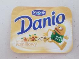 Poland Yogurt  Top Danone - Milk Tops (Milk Lids)