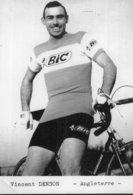 7164 Photo Repro. Cyclisme  Vincent Denson - Cyclisme