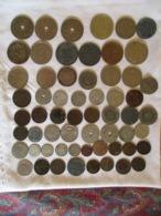 Lot BENELUX: 60 Pièces + 8 Silver - Kilowaar - Munten