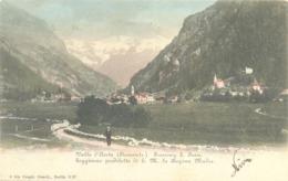 12954 - Aosta - Soggiorno Prediletto Di S M La Regina Madre F - Aosta