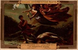 BISCUITS LEFEVRE UTILE MUSEE DU LOUVRE LA VENGEANCE DIVINE - Altri