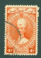 Malaya - Kelantan: 1937/40   Sultan Ismail    SG42    4c     Used - Kelantan