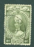 Malaya - Kelantan: 1937/40   Sultan Ismail    SG45    8c     Used - Kelantan