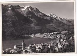 St. Moritz-Dorf U. Bad Mit Piz Rosatsch U. Piz Corvatsch - GR Grisons
