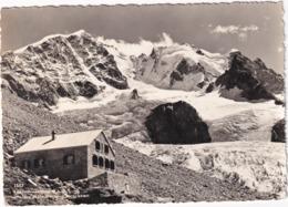 Tschiervahütte S.A,C. Mit Piz Bernina Und Scerscen - (1965) - GR Grisons