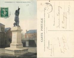 NB - [505460]B/TB//-France  - (59) Nord, Fourmies, Statue De Jeanne D'Arc, Architectures, Monuments - Fourmies