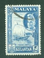 Malaya - Kelantan: 1957/63   Sultan Ibrahim - Pictorial    SG90    20c      Used - Kelantan