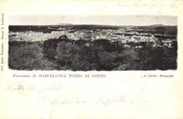 12295 - Barcellona Pozzo Di Gotto - Panorama (Messina) F - Messina