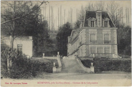 27  Aubevoye Pres Gaillon Chateau  De La Crequiniere - Aubevoye