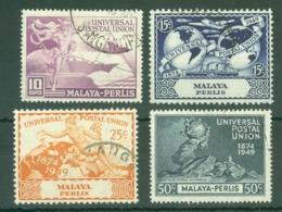 Malaya - Perlis: 1949   U.P.U.   Used - Perlis
