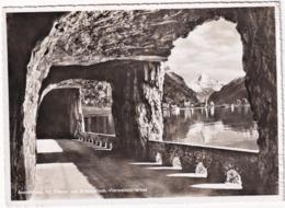 Axenstrasse Mit Flüelen Und Bristenstock, Vierwaldstättersee - (1956) - UR Uri