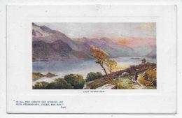 Loch Vennachar - Tuck Oilette 9710 - Scotland