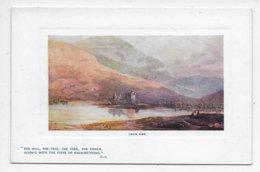Loch Awe - Tuck Oilette 9710 - Scotland