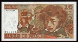 FRANCE: 10F Berlioz N° 63- 24 A. Date :06/07/1978. Alphabet: N 306, Un Seul Alphabet N° De Conrtôle Erroné - 1962-1997 ''Francs''