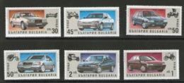 BULGARIE 1992 VOITURES   YVERT N°3433/38  NEUF MNH** - Automobili