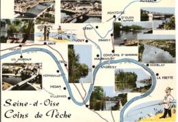 SEINE ET OISE  COINS DE PECHE  (poissy) - France