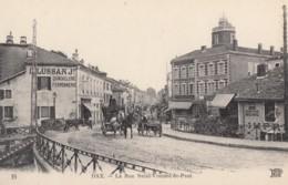 CPA - Dax - La Rue St Vincent De Paul - Dax