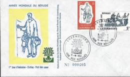 Luxembourg  -  FDC    7.4.1960  Année Mondiale Du Réfugié - FDC