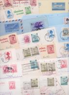 THAÏLANDE THAILAND - Lot De 108 Entiers Postaux Et Aérogrammes Aérogramme Postal Stationery Air Mail Letter Post Card - Thailand