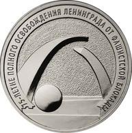 Russia, 2019, II World War, LENINGRAD, 25 Rbl 25 Rubels Rubles - Russia