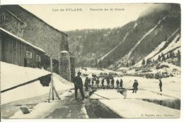 01 - LAC De SYLANS / RECOLTE DE LA GLACE - Francia