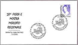 Feria De Vino - VERNACCIA DI ORISTANO - Wine Fair. Baratili San Pietro, Oristano, 2004 - Vinos Y Alcoholes