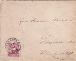 ALLEMAGNE 1884 LETTRE DE WARMBRUNN - Allemagne