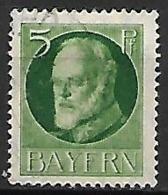 BAVIERE    -    1914 .   Y&T N° 95 Oblitéré - Bayern