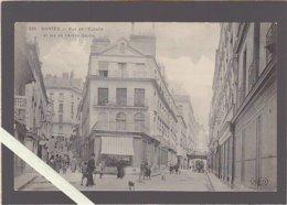 """Nantes / Rue De L'échelle Et Rue De L'arche Seche / 298 ELD 1er Tirage Utilisé Pour """"avant Bombardements"""" Chapeau - Nantes"""