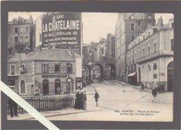 Nantes / Place Du Cirque Et Rue Arche Seche, Café-Buvette Du Cirque / Voir état - Nantes