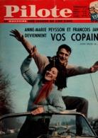 Pilote N°183 Anne-Marie Peysson Et François Janin - Belloy - Pelé En Tête Les Brésiliens Sont à Paris De 1963 - Pilote