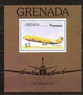 Grenade Grenada 1976 Yvertnr Bloc 55 *** MNH  Cote 40 FF Avions Airplanes Vliegtuigen - Grenade (1974-...)