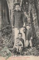VIET-NAM - Tirailleur Annamite Et Ses Enfants - Vietnam