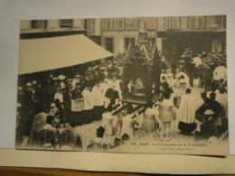Riom La Procession De Saint Amable,Puy De Dôme 63,non écrite Environ 1910,très Bel état,rare - Riom