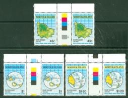 Norfolk Is: 1991   Ham Radio Network      MNH Gutter Pairs - Norfolk Island